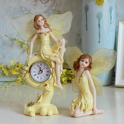 天使娃娃欧式酒柜电视柜家居装饰品摆件创意客厅房间卧室女生摆设
