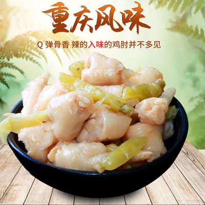 泡椒凤爪鸡拐熟食肉制品