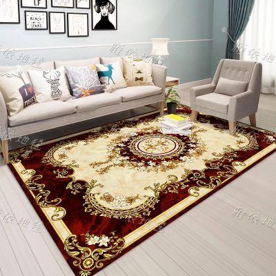 欧式地毯客厅沙发茶几垫卧室床边榻榻米满铺地毯书房玄关现代美式