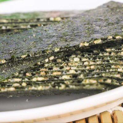 芝麻夹心海苔烤即食调味海苔大片切脆片100克宝宝零食多口味可选