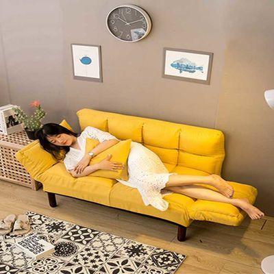 懒人沙发单双人小户型沙发床简易折叠网红款卧室阳台小沙发榻榻米