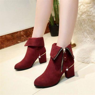 女鞋团_拼多多女鞋冬季新款女靴