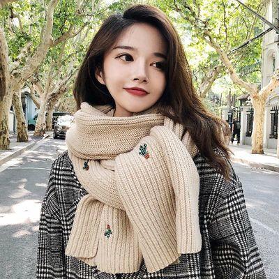 韩国小孩女孩韩版秋冬可爱儿童围巾宝宝冬季保暖毛线脖套公主男童女童