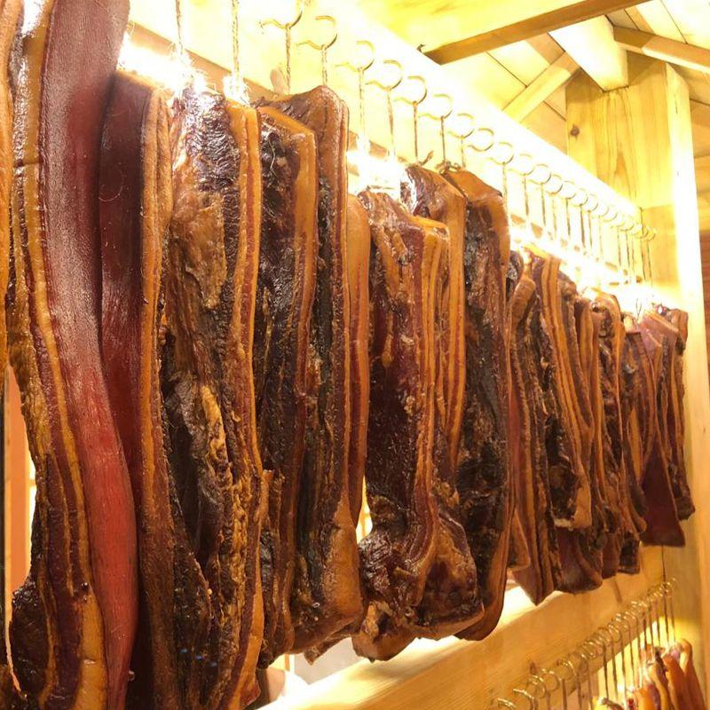 四川特产腊肉五花肉土特产土猪肉小香肠正宗农家自制烟熏麻辣腊肠