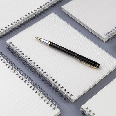 方格本线圈本子笔记本文具网格本像素画本记事本厚手绘本学生本子