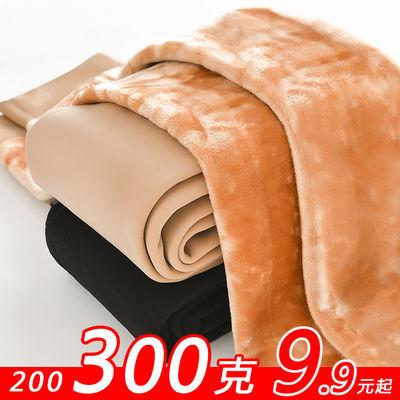 冬季外穿一体加绒加厚保暖打底裤