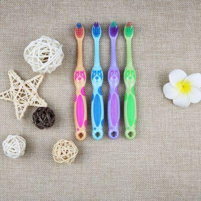 【下单送1支】 小博士儿童牙刷软毛带玩具牙刷家用独立包装家庭装