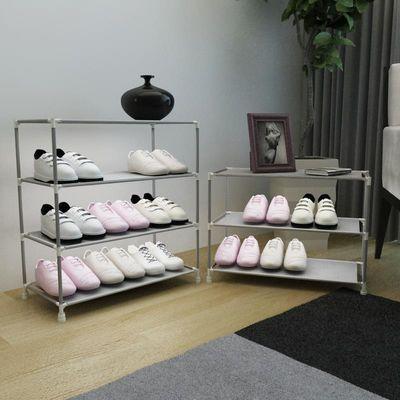 简易鞋架多层家用经济型组装防尘省空间鞋柜学生宿舍寝室小鞋架子