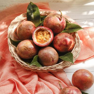 广西百香果大果10斤装5/3斤12个40g-100g新鲜水果酸甜多汁