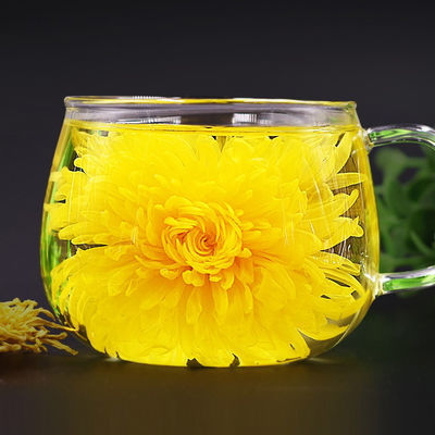 金丝皇菊100朵一朵一杯徽州大黄菊枸杞菊花茶清热去火 花茶茶叶