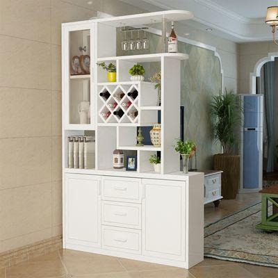 客厅玄关柜隔断柜酒柜双面屏风柜间厅柜简约现代门厅装饰柜鞋柜