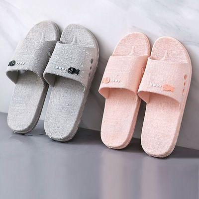 居家凉拖鞋女夏季浴室内防滑家居情侣地板拖鞋男夏天可爱学生夏季