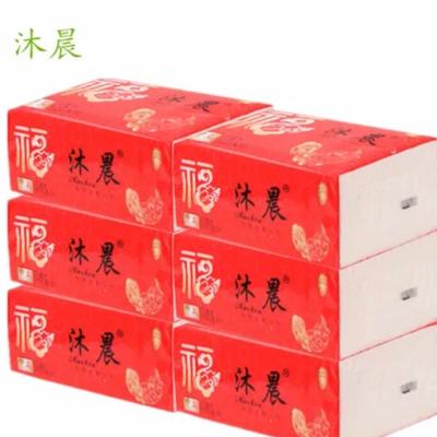 6包四层加厚原木浆柔软纸巾餐厅抽纸卫生抽纸家庭抽纸