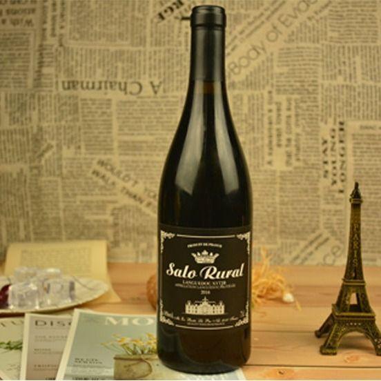 法国进口14度红酒大肚瓶干红葡萄酒6支12支整箱包邮