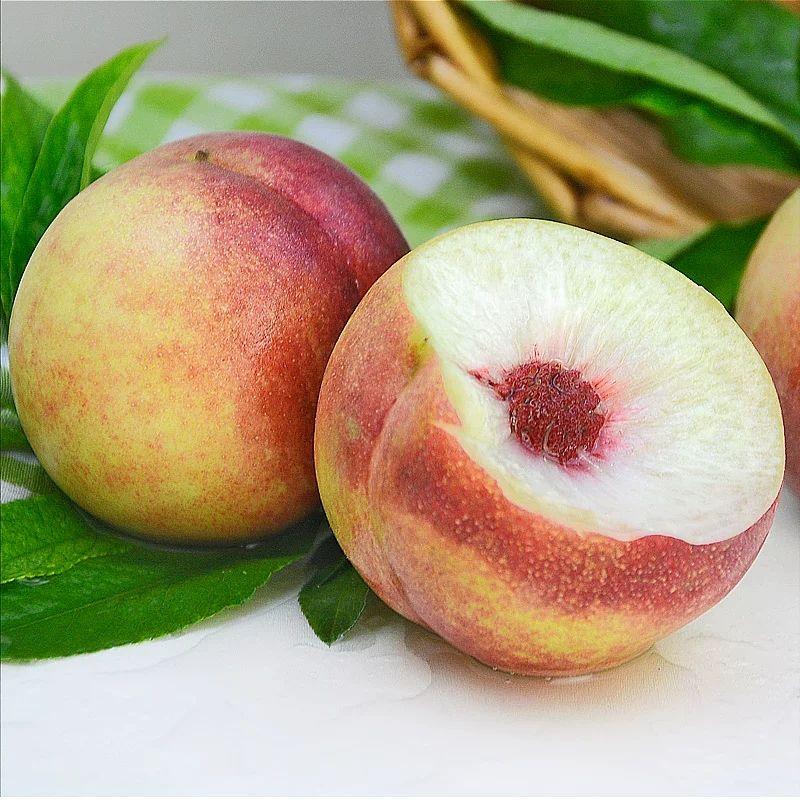 新鲜桃子 青州蜜桃 冬雪蜜桃冬桃 地标产品 脆甜多汁 1/3/5斤可选
