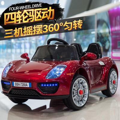 儿童电动车四驱1-10岁电动四轮遥控汽车可坐人小孩摇摆汽车男女孩
