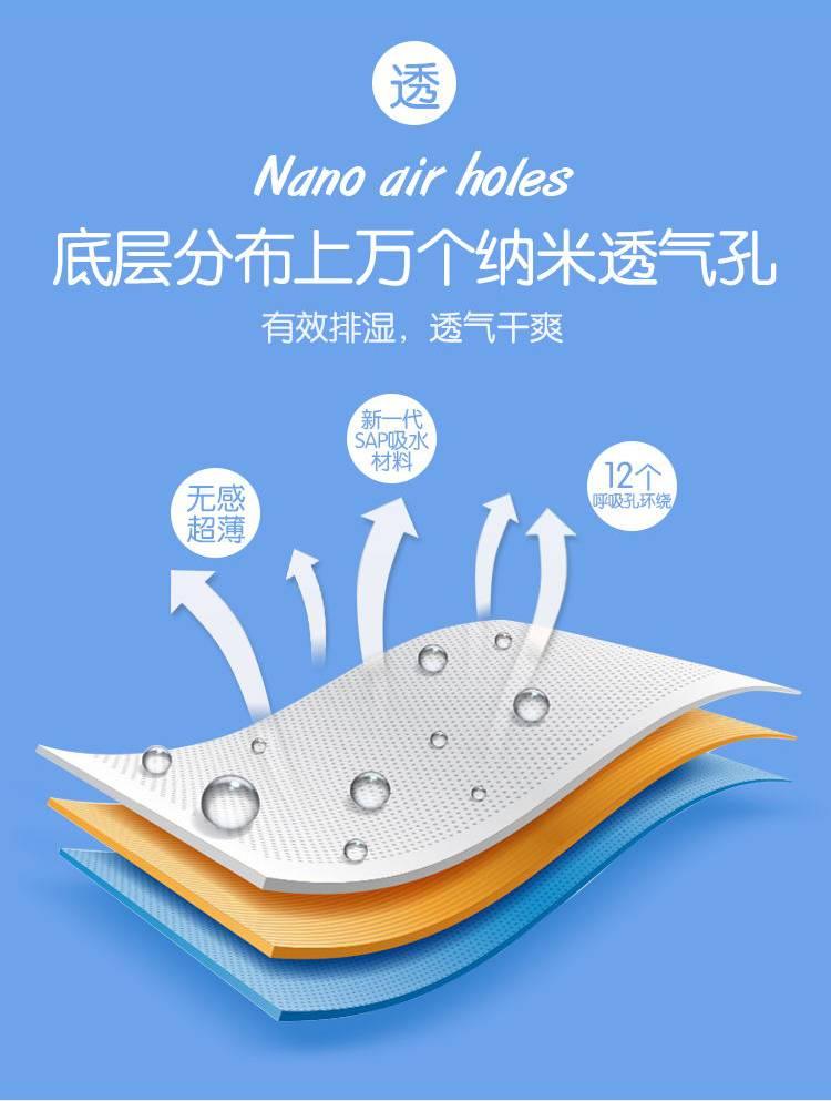 【送固定带】乐娃娃纸尿片婴儿超薄纸尿裤拉拉裤干爽透气尿不湿