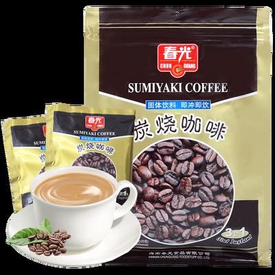 新货正品春光炭烧咖啡360g*2袋/5袋 海南特产3合1速溶咖啡粉