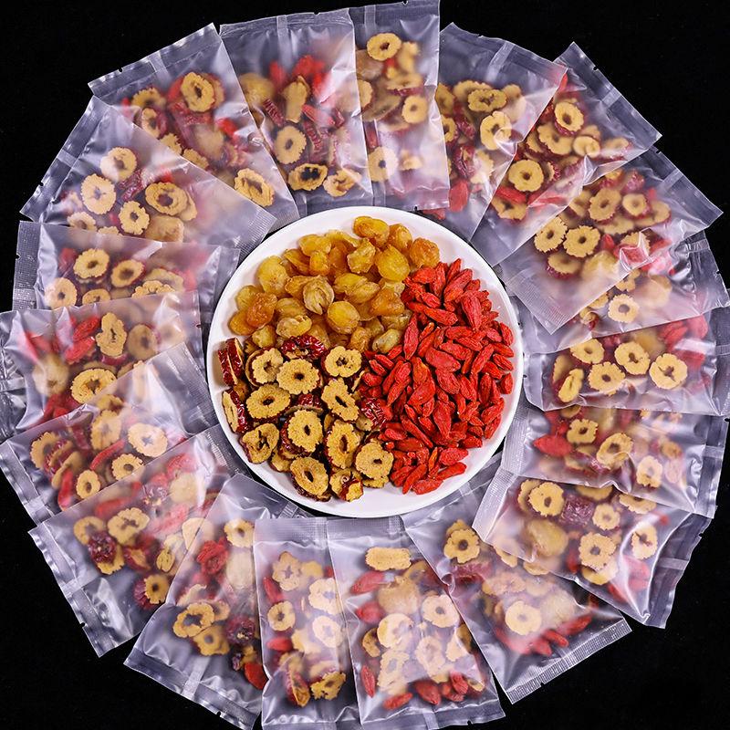 桂圆红枣枸杞茶女人养生玫瑰补气血花茶组合水果菊花茶10包120克