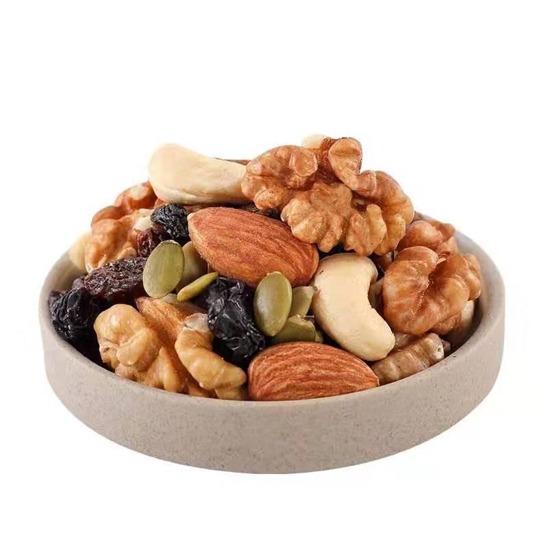 每日坚果500g/1000g混合坚果散装干果儿童孕妇零食雪花酥综合果仁