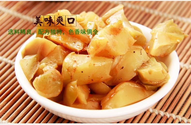涪陵榨菜去皮榨菜芯50g袋口口脆菜芯多规格可选腌制咸菜下饭菜