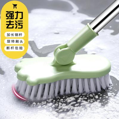 长柄地板刷家用浴室厨房瓷砖卫生间刷地的神器洗厕所刷子硬毛清洁