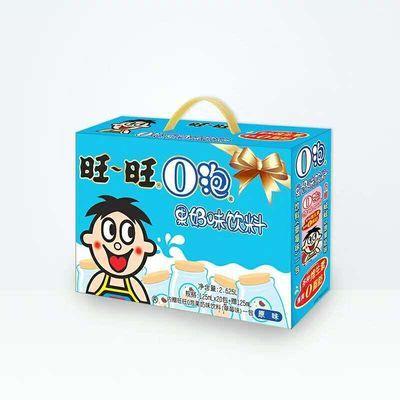 旺旺旺仔O泡原味草莓果奶味饮料125ml*12果奶旺仔牛奶复原乳饮料