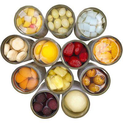 砀山黄桃水果罐头 混合装整箱 橘子山楂椰果菠萝桑葚罐头自由搭配