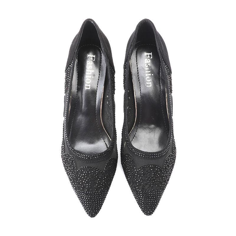 XT0074-2高跟鞋2020年新款春季女鞋夏细跟尖头性感百搭漆皮浅口
