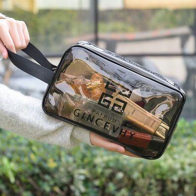 透明化妆包防水洗漱包男女便携游泳健身旅行收纳洗浴包大容量手提
