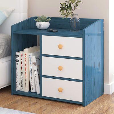 床头柜 简约现代卧室床头置物架床边小柜子北欧简易经济型收纳柜
