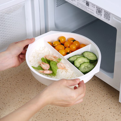 【加厚款】微波炉专用汤碗饭菜加热带盖塑料汤盒泡面碗热饭盒蒸盒