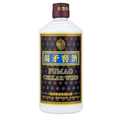福矛窖酒 大国酱香型白酒纯粮食酿造53度500ml/瓶