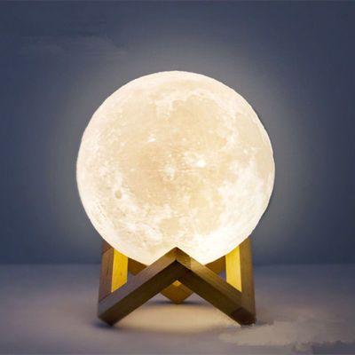 月球灯创意礼品生日礼物女生男生小夜灯抖音同款小台灯卧室床头灯