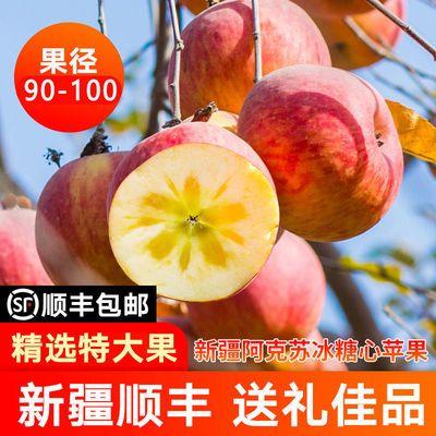 【泡沫礼盒】正宗新疆阿克苏冰糖心苹果水果10斤泡沫礼盒顺丰包邮
