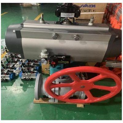 气动硬密封球阀Q641H高温蒸汽导热油尿素气体耐磨防爆切断阀DN80
