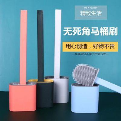 挂壁式硅胶马桶刷子多功能马桶刷厕所刷子无死角马桶家用清洁神器