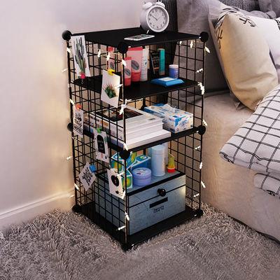 床头柜小型卧室小户型置物架多功能经济型便宜迷你简易出租房柜子