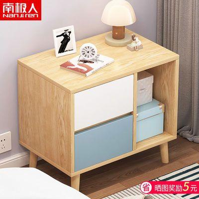 床头柜简约现代轻奢置物架迷你小型收纳省空间北欧风ins床边柜子