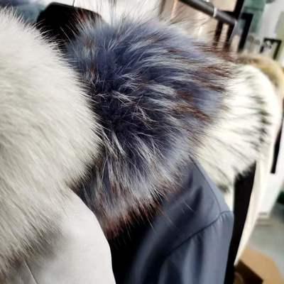 价格链接女装派克服海宁皮草皮毛一体狐狸毛貉子毛价格链接女装派