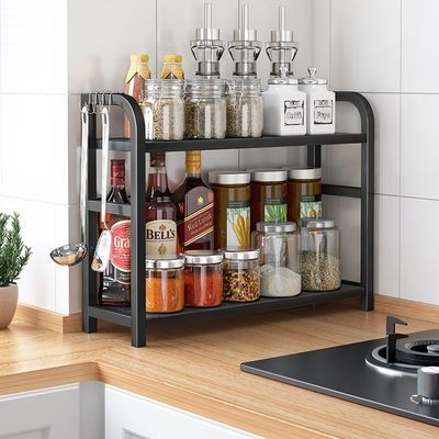 厨房调料置物架台面收纳架多功能调味品油盐酱醋架子用品家用大全