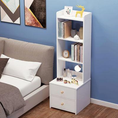 床头柜卧室简约现代高款床头收纳柜多功能迷你小型储物柜置物架