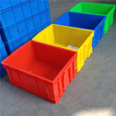 加厚大号塑料周转箱物流运输筐仓库收纳整理框可配盖养鱼龟胶箱盒