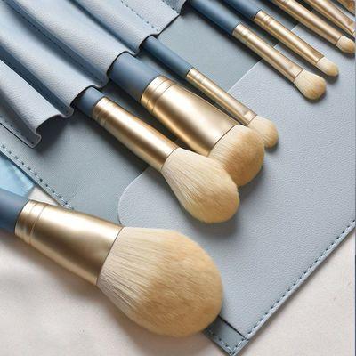 花样10支蓝桥化妆刷套装全套初学者刷子散粉刷眼影刷子超柔软工具