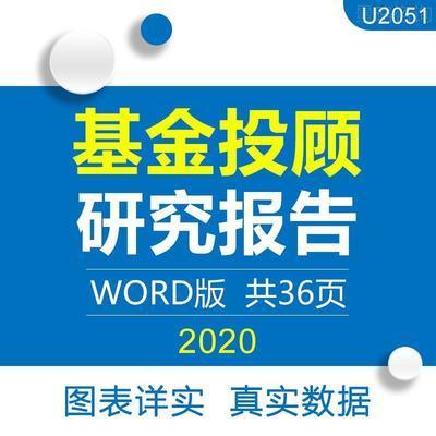 2020年基金投顾模式对比分析海外发展现状行业市场产业研究报告yj