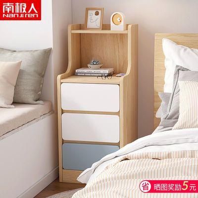 床头柜简约现代迷你小型超窄款置物架简易小柜子卧室床边柜长条柜