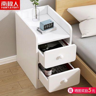 床头柜简约现代置物架家用卧室床边柜窄夹缝迷你超窄小型收纳柜子