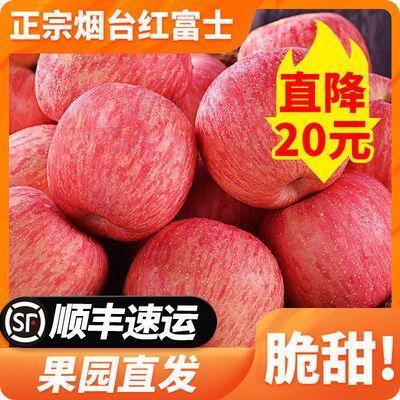 山东烟台红富士苹果水果新鲜带箱脆甜当季一级整箱10吃货斤丑包邮