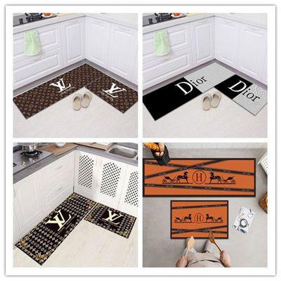 厨房地垫进门家用脚垫浴室卫生间吸水防滑门垫卧室床边地毯可定制