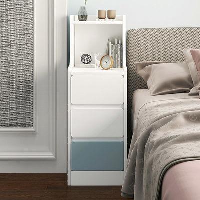 床头柜小型简约卧室家用迷你置物架床边小柜子床头置物架储物柜
